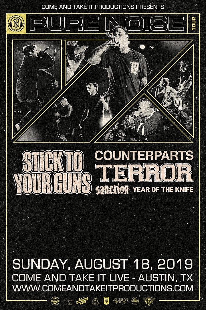 STICK TO YOUR GUNS: Revolver Presents the Pure Noise Tour image
