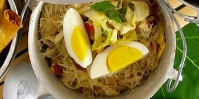 "PANCIT (Noodles) Workshop for ""KWENTONG KALDERO""  (Stories From the Pot)"