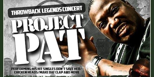 "Throwback Legends ""Project Pat & Crunchy Black"" Live"