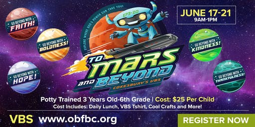 OBF To Mars and Beyond VBS