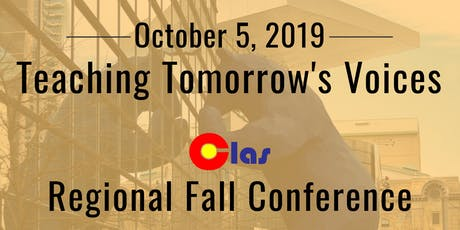 Colorado Language Arts Society Regional Fall Conference tickets
