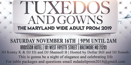 2019 Maryland Adult Prom  tickets