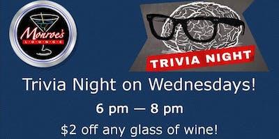 Wednesday Trivia Night at Monroe's Lounge