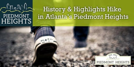 History & Highlights Hike in Atlanta's Piedmont Heights tickets