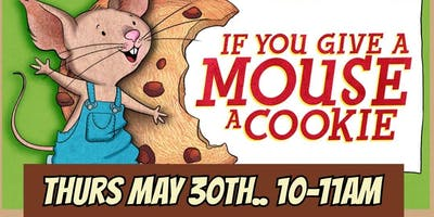 Storytime Art-IF You Give a Mouse a Cookie