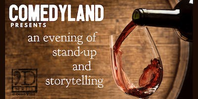 COMEDYLAND - an evening of stand up and storytelling