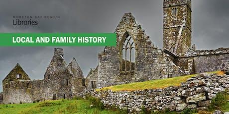 Irish Genealogy Online - Caboolture Library tickets