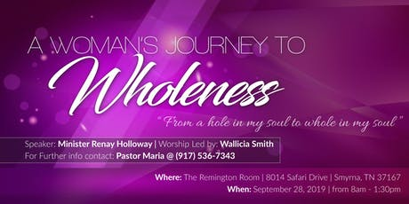 A Woman's Journey To Wholeness tickets