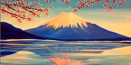 Paint Wine Denver Mount Fuji Fri June 21st 6:30pm $35 tickets