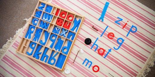 Language 1 Montessori Workshop 2019