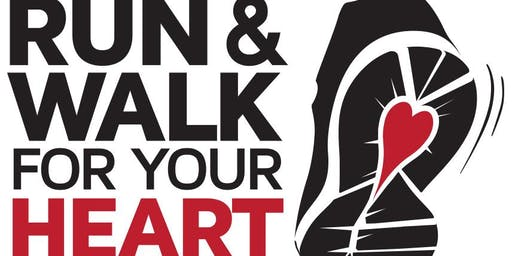Heart & Stroke Awareness Run - Walk 2019