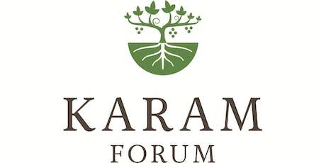 Karam Forum tickets