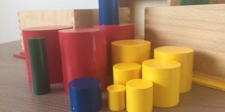 Sensorial 1 Montessori Workshop tickets