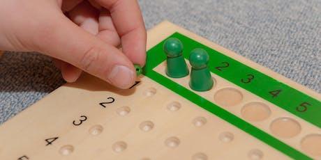 Maths 2 Montessori workshop tickets