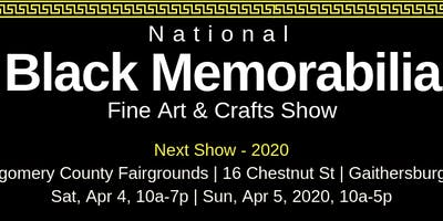 National Black Memorabilia, Fine Art & Crafts Show 2020