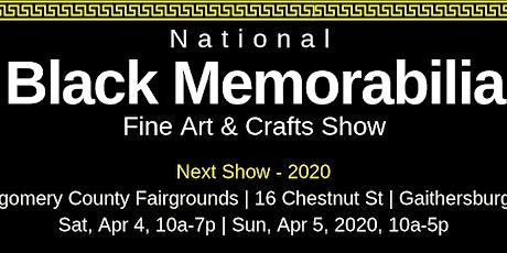 National Black Memorabilia, Fine Art & Crafts Show 2020 tickets