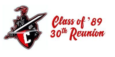 Cordova High School, Class of '89 - 30 Year High School Reunion