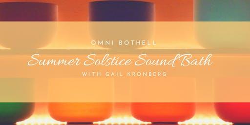Summer Solstice Sound Bath