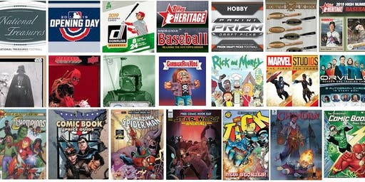 Richmond Sports Card, Collectibles & Comic Book Show August 4