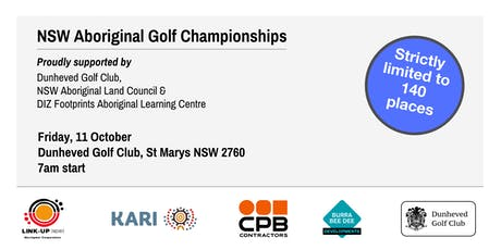 NSW Aboriginal Golf Championships - 40th Anniversary tickets