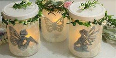 Fairy Light Jar & Tea Party Lunch