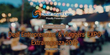 Deaf Entrepreneurs' & Vloggers' EXPO Extravaganza2019 tickets