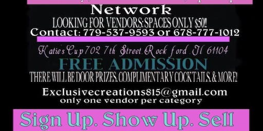Exclusive Creations Sip N Shop event