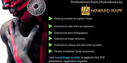 Professional Body Paint Photoshoots in Miami