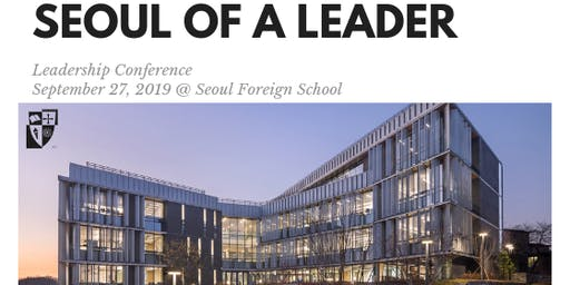 Seoul of a Leader - Full Day Friday Conference - Sept. 27