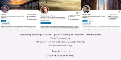 C-Suite Networking and the FENG Present: Optimizing Your Digital Brand