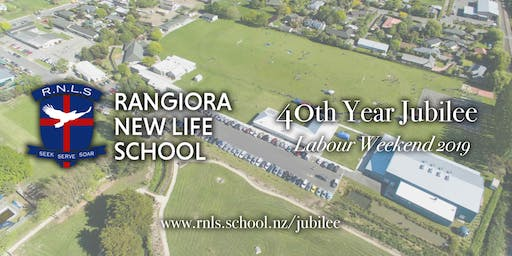 Rangiora New Life School 40th Jubilee