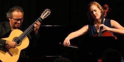 "Valley View Chamber Concerts presents Duo Apaixonado ""LatinoAmericando & More"""