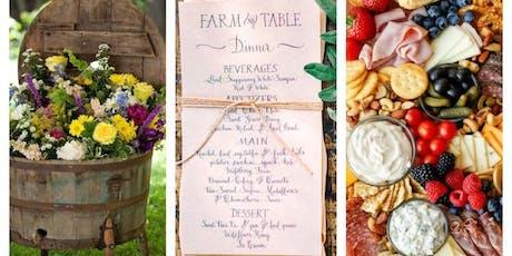 1st Annual Farm to Table Dinner Fundraiser tickets