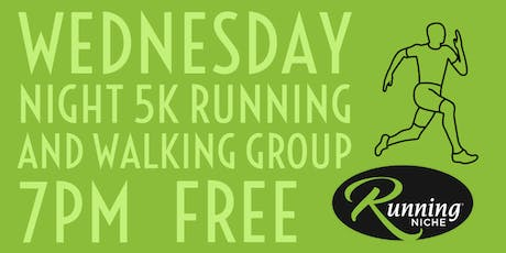 Weekly Wednesday Night 5K Running and Walking Group in the Grove tickets