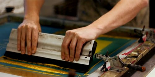 Learn Printmaking - Screenprint - 2 Day Workshop (over 2 Saturdays)