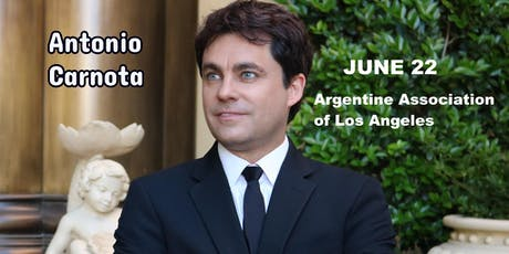 Antonio Carnota in Concert (Argentine Association of Los Angeles) tickets
