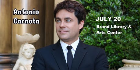 Antonio Carnota in Concert (Brand Library & Arts Center) tickets