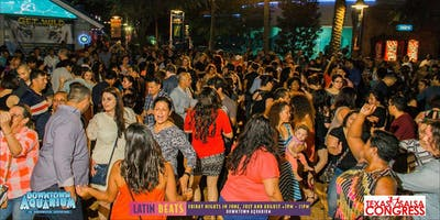 Latin Beats at the Downtown Aquarium w/Texas Salsa Congress