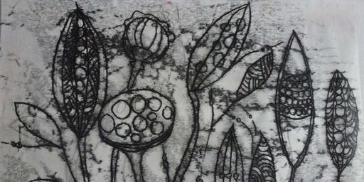 Learn Printmaking - Monoprint - 2 Day Workshop (over 2 Saturdays)