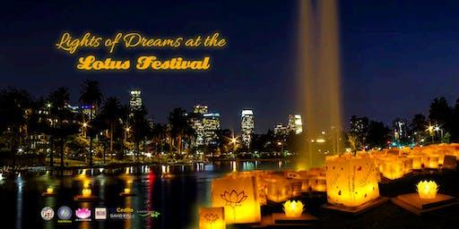 LA Lotus Festival - Lights of Dreams Water Lantern Event (July 13, 2019)