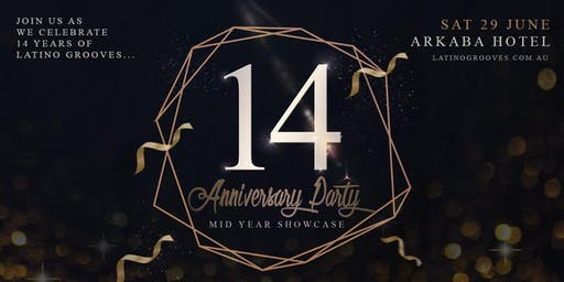 Latino Grooves 14th Anniversary Party & Mid Year Showcase