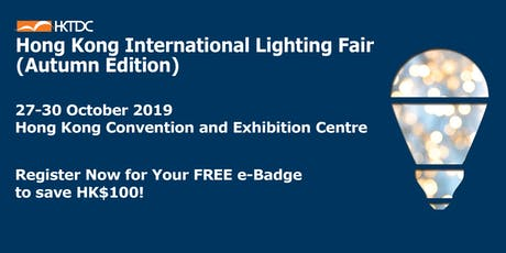 HKTDC Hong Kong International Lighting Fair (Autumn Edition) tickets
