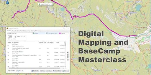Digital Mapping and BaseCamp Masterclass for GPS Navigators