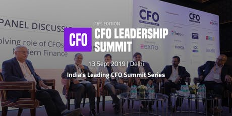 CFO Leadership Summit tickets