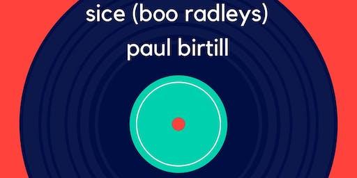 Sice (Boo Radleys) Jules Reid Paul Birtill Matt McManamon