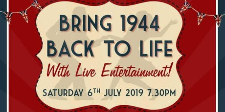 1940s Night LRGT 75th Anniversary tickets