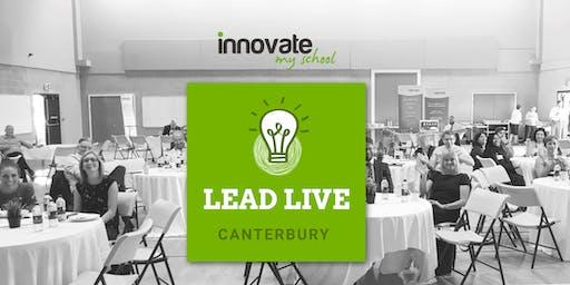 Lead LIVE - Canterbury 12th July