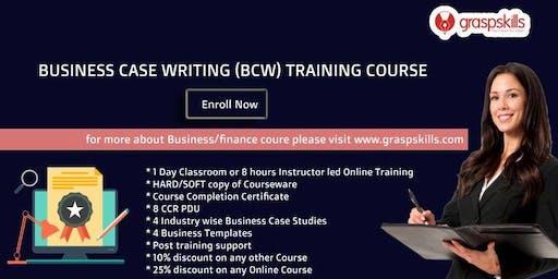 Business Case Writing (BCW) Training Workshop- Bangalore