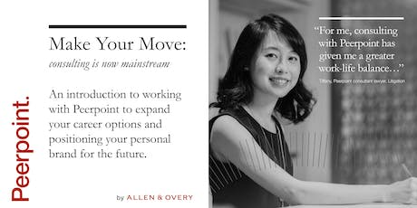 Make Your Move: legal consulting in Hong Kong tickets