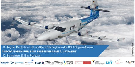 14. Tag der Deutschen Luft- und Raumfahrtregionen Tickets